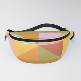 Autumn Triangles Fanny Pack