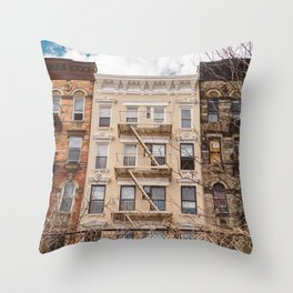 NoLita Architecture Throw Pillow