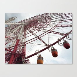 The big big wheel Canvas Print