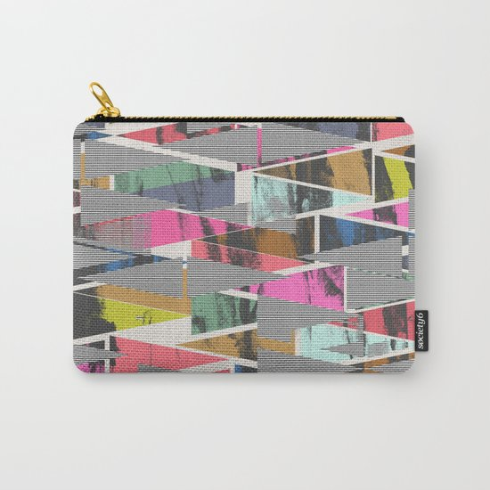 Triangles 21 Carry-All Pouch