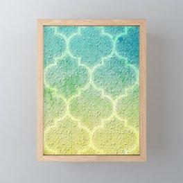 Moroccan Inspiration Framed Mini Art Print
