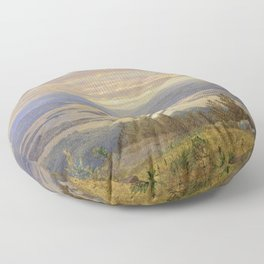 William Trost Richards - Lake Squam from Red Hill Floor Pillow
