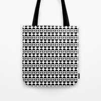 lunar Tote Bags featuring Lunar by MANYOUFACTURE