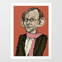 Megas - Magnús Þór Jónsson Art Print