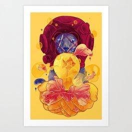 La Lumiere (Yellow) Art Print