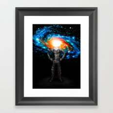 Mr. Galaxy Framed Art Print