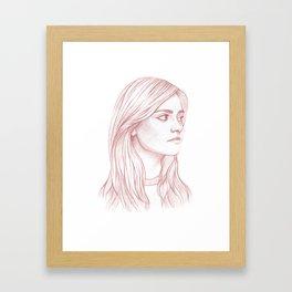 Clara Oswald Framed Art Print