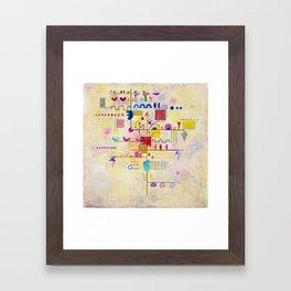 Wassily Kandinsky - Graceful ascent Framed Art Print