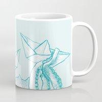 kraken Mugs featuring Kraken by Badaro