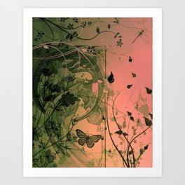 """Flow"" Art Print"