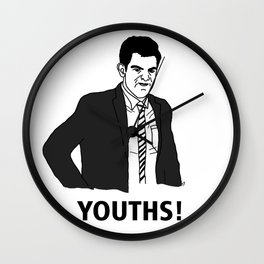 Youths! Wall Clock