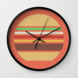 Meal Time (clock#17) Wall Clock