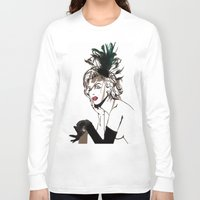monroe Long Sleeve T-shirts featuring Monroe  by AnneSinclair11