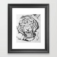 Aggression Framed Art Print
