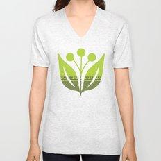 Chartreuse Spring Unisex V-Neck