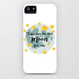Bing Bong Moon iPhone Case