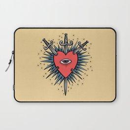 Three of Swords Laptop Sleeve