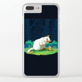 Unlikely Friendship Clear iPhone Case