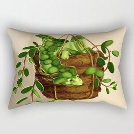 Succulent dragon Rectangular Pillow