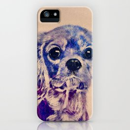 Cavalier King Charles Spaniel Puppy iPhone Case