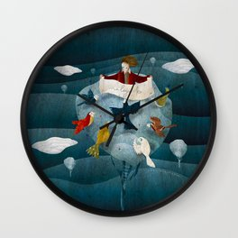 When I was 7 Wall Clock