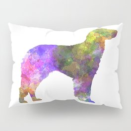 German Longhaired Pointer in watercolor Pillow Sham