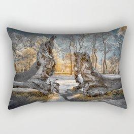 Cracked Tree Rectangular Pillow