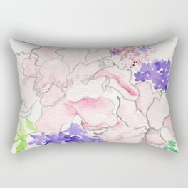 Rooted Together Rectangular Pillow