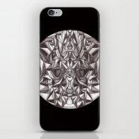 cheshire cat iPhone & iPod Skins featuring Cheshire by IRIS Photo & Design