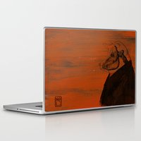 pig Laptop & iPad Skins featuring Pig by Ilaria Meli