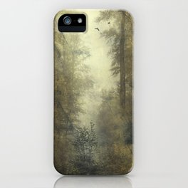 Let's Pretend we're Alone iPhone Case