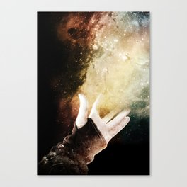 On your dreams, Canvas Print