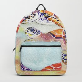 Swimming Together - Sea Turtle Backpack