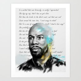 H.E.R Art Print