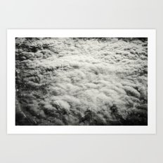 Somewhere Over The Clouds (II Art Print