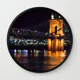 John A. Roebling Bridge Wall Clock