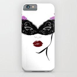 Masquerade mask iPhone Case