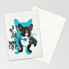 Chauncey Loves You - French Bulldog Stationery Cards