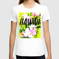 hawaii T-shirts featuring Hawaii by mattholleydesign