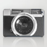 phone iPad Cases featuring Camera by Nicklas Gustafsson
