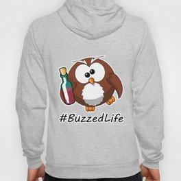 #BuzzedLife Drunk Owl Hoody
