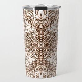 Mehndi Ethnic Style G339 Travel Mug