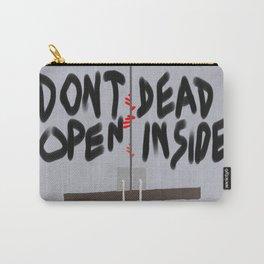 Don't Open Dead Inside, Walking Dead  Carry-All Pouch
