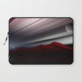 Bergpanorama. Laptop Sleeve