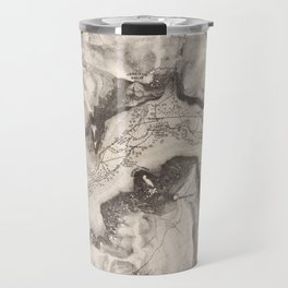 Vintage Map of Yosemite Valley (1870) Travel Mug