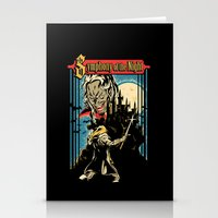 castlevania Stationery Cards featuring Symphony of the night by MeleeNinja