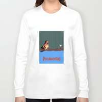 pocahontas Long Sleeve T-shirts featuring Pocahontas by TheWonderlander