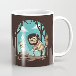 Where the Wild Adventures Are Coffee Mug