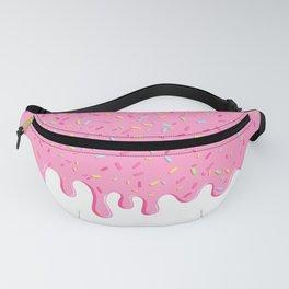 Pink donut glaze Fanny Pack