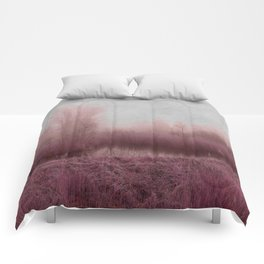 Fog country in my dreams Comforters